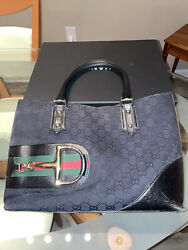 Gucci Black Tote Bag with Hardware $300.00