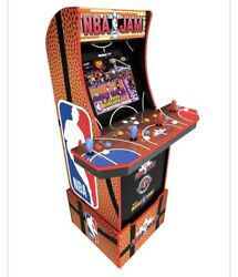 Nba Jam 5ft Tall Wifi 4 Player Arcade1up Retro Game Console 🏀 🔥