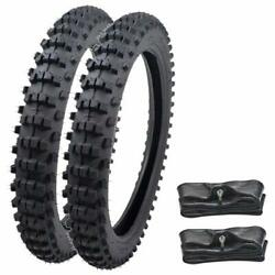 Front 70/100-19 And 90/100-16 Rear Tire Tube For Kx100 Yz85 Ttr125 Cr85 Pit Bike
