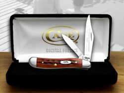 Case Xx Father Peanut Knife Old Red Bone 1/1000 Stainless Pocket Knives 781 Wgd