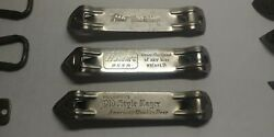 3-vintage Pabst-hamm's-old Style Lager-bottle Can Openers Nice Lot Shelf L4