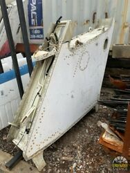 Airplane Partial Empennage Section Vintage Aircraft Stabilizer Wing 51