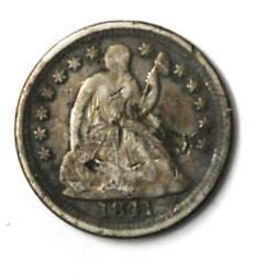 1841 O H10c Seated Liberty Silver Half Dime New Orleans