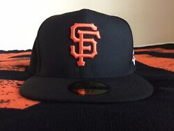 San Francisco Giants 2012 World Series New Era 5950 Fitted Hat Mens 7 3/4