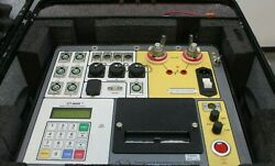 Doble Vanguard Ct-8000 Digital Circuit Breaker Analyzer Tester 200a 6 Contacts