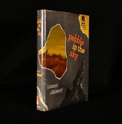 1950 Pebble In The Sky Isaac Asimov First Edition