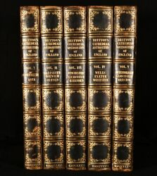 1836 5vol Cathedral Antiquities Historical And Descriptive Accounts John Brit...