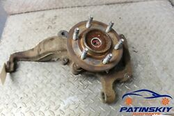 2010 Ford F-150 Front Left Driver Hub Spindle Knuckle Control Arm F150 10