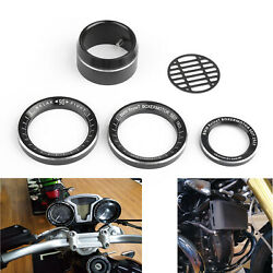Techometer Speedometer Ring Cover Air Intake Trim Fit For Bmw R Nine T 14-16
