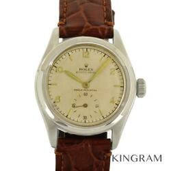 Rolex Oyster Royal 6144 Antique Exterior Finished Overhauled Watch From Japan