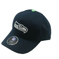 Seattle Seahawks Youth Boys One Size Fits Most Adjustable Hook And Loop Hat Cap