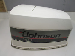 140 Hp Evinrude Johnson Outboard Top Hood Motor Cowl Engine Cowling