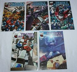 Transformers More Than Meets The Eye Dw Comic Book 4-6 Mick Lee 5,6 Lot 61