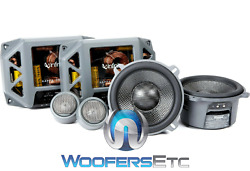 Infinity Kappa Perfect 500 5.25 400w Component Speakers Tweeters Crossovers New