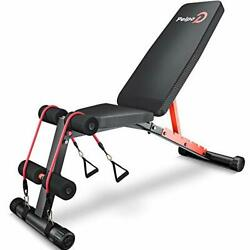 Weight Bench For Full Body Workout, Adjustable Workout Bench For Home Gym 6 Post