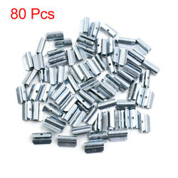 5g Clip-on Metal Tyre Wheel Balance Weights For Motorcycle Car 25 X 14mm 80pcs