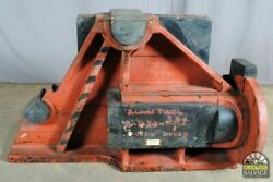 Salvaged Nautical Foundry Pattern, Large Wood Industrial Shipbuilding Mould, 51