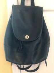 Vintage Coach Leather Backpack $85.00
