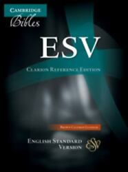 Esv Clarion Reference Bible, Brown Calfskin Leather, Es485x 9781107648302