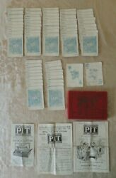 Vintage The Pit Bull And Bear Playing Card Game Parker Brothers Usa 1904 Edition