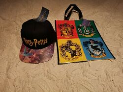 New And Rare Harry Potter Cap/hat + Bag