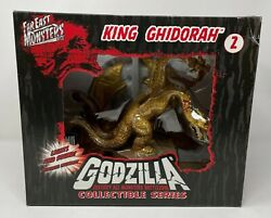 Godzilla Destroy All Monsters Battlezone King Ghidorah Signed Collectible 2008