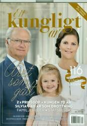 Rare Magazine A Royal Year King Carl Gustaf Queen Silvia Sweden 2016 116 Pages