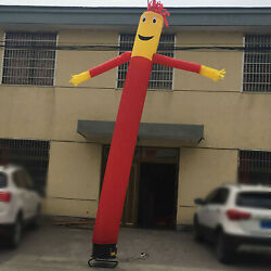 20ft Advertising Inflatable Tube Man Blow Up Giant Waving Arm Fly Puppet New