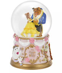 Belle Beauty The Beast Snowglobe Story Collection Disney Store Japan