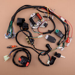 Electric Wiring Harness Cdi Rectifier For 50cc 90cc 110cc 125cc Atv Quad Scooter