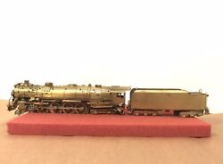 Key Imports Ho Scale Brass Classic Np 2626 4-8-4 Northern Locomotive And Tender
