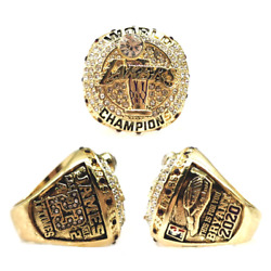 2020 Los Angeles Lakers Championship Ring Jame-bryant Size 8-13. Very Rare