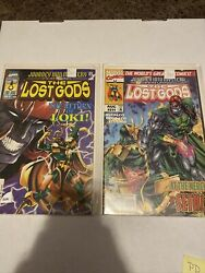 Journey Into Mystery The Lost Gods Lot Of 509 And 511 Marvel Comics