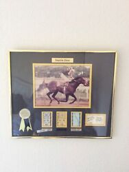 Seattle Slew 1977 Triple Crown Collector Frame