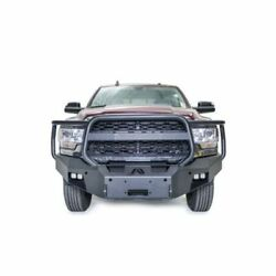 Fab Fours Dr19-a4450-1 Premium Winch Front Bumper With Full Guard Black New