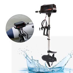 24v 3hp Outboard Motor 800w Inflatable Boat Engine With Switch Knob Hangkai
