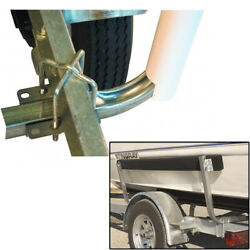Ce Smith 5and039 Bunk Board Boat Trailer Guide-on Pair Carpeted W/ Mounting Hardware