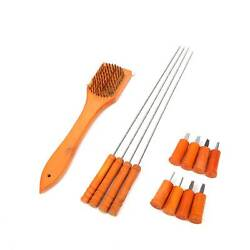 18pcs Bbq Grill Tool Set Wooden And Stainless Steel Barbecue Grilling Accessories