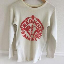 Red Hot Chili Peppers Rock Band Men's Long Sleeve T-shirt Size M 80s Vintage