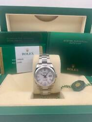 Rolex Datejust 116200 36mm White Index Dial Stainless Steel Oyster Bracelet 2016