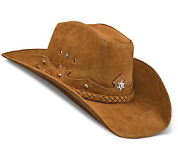 Cowboy Hat Western Genuine Leather Hats Whiskey Cowgirl For Womens Mens Zalupe