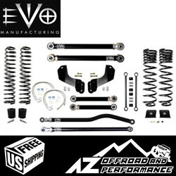 Evo Mfg 4.5 Enforcer Overland Stage 3 Plus For And03920-current Jeep Gladiator Jt