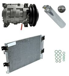 Ryc Reman Ac Compressor Kit With Condenser Ad-0844 Fits Hino 258 7.7l 08-10