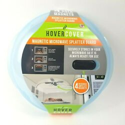 Hover Cover Magnetic Microwave Splatter Lid W/ Steam Vents Cover Dishwasher 11