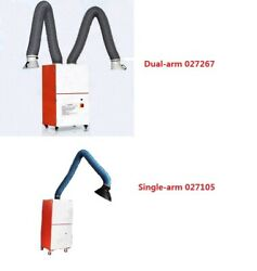 220v Single/dual-arm Welding Fume Extractor For Industrial Smoke Light Particles