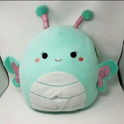 Squishmallows Squishmallow 16 Reina Butterfly Super Soft Plush Pillow Nwt