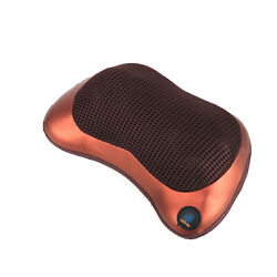 Neck And Back Massager Pillow Shiatsu Shoulder Pillow With Deep Kneading Cushion