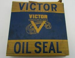 Vintage Victor Oil Seal 48737 New Old Stock Some Light Surface Rust See Pictures