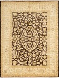 9and0392 X 12and0390 Vintage Hand-knotted Traditional Oriental Wool Area Rug