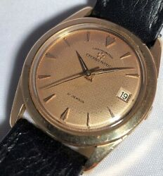 Eterna Matic 18ct Rose Gold Automatic Chronometer Menandrsquos Watch